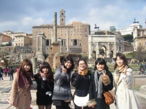 ローマ・パリゼミ旅行